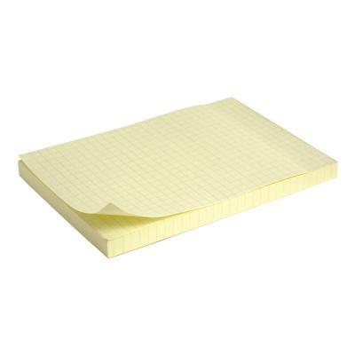 Блок бумаги с клейким слоем 100x150мм 100л клетка (2330-02-A)