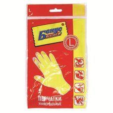 Перчатки резиновые универсальные L, Бонус