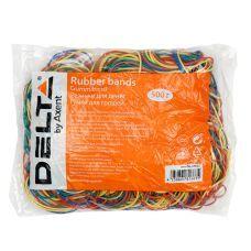 Резинки для денег цветные 500г D4622