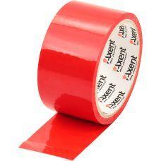 Скотч упаковочный 48мм х 35м 40мкм красный