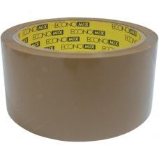Скотч упаковочный 48мм х 50м Economix коричневый